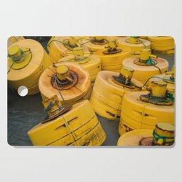 Yellow gathering Cutting Board