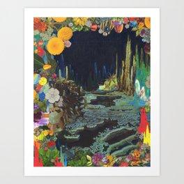 Cave Garden II Art Print