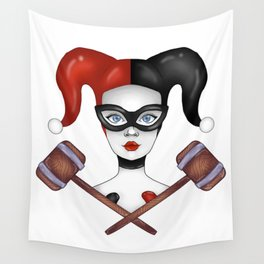 d1e22c56a22c Harley Quinnzel Wall Tapestry