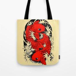 Koi / carp / japanese Tote Bag