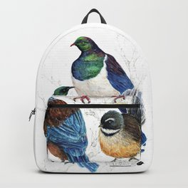 thee birds in a tree Backpack