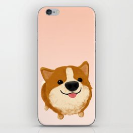 Corgi [boop the snoot!] iPhone Skin