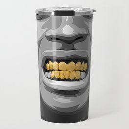 ASAP ROCKY Gold/GRILLz ! Travel Mug