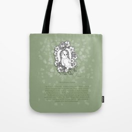 Velveteen Rabbit Wisdom Illustration for Children Tote Bag