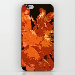 Orange Bush Lily iPhone Skin