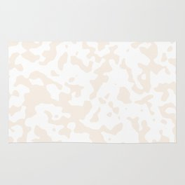 Spots - White and Linen Rug