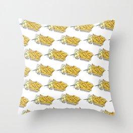dutch fries Throw Pillow