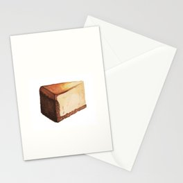 Cheesecake Slice Stationery Cards