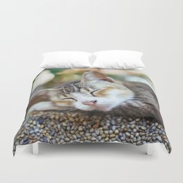 Peace Sleep Duvet Cover