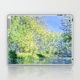 Monet: Bend in the River Ept Laptop & iPad Skin
