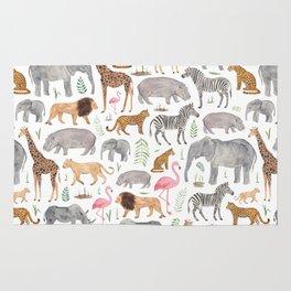 Safari Animals Rug