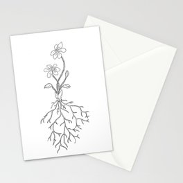 Hepatica Stationery Cards
