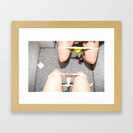 Ladies Room Framed Art Print