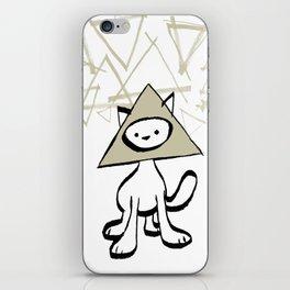 minima - pyramid cat iPhone Skin