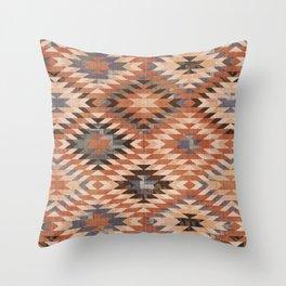 Arizona Southwestern Tribal Print Throw Pillow