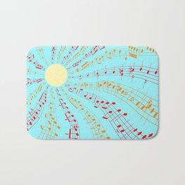 Music Brightens the World Bath Mat