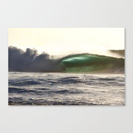 Evening Pipeline Canvas Print
