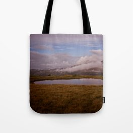 Llyn y Cefn Tote Bag