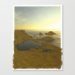 Looking West from SF Canvas Print