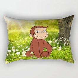 Curious George Rectangular Pillow