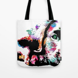 riley the lab pup Tote Bag