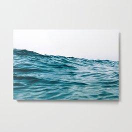 Lost My Heart To The Ocean Metal Print