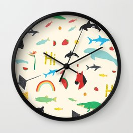 All Together Wall Clock