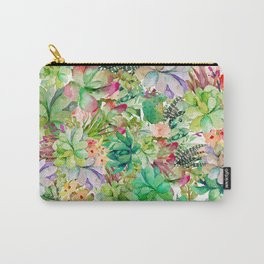Cactus Collage Carry-All Pouch