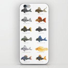 Pleco! - white iPhone Skin