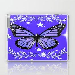 Purple Butterfly Laptop & iPad Skin