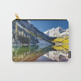 Maroon Bells Colorado Carry-All Pouch