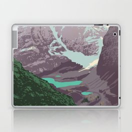 Yoho National Park Poster Laptop & iPad Skin