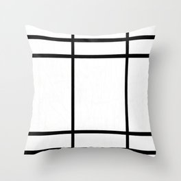 Piet Mondrian - Composition in White, Red, and Yellow Throw Pillow