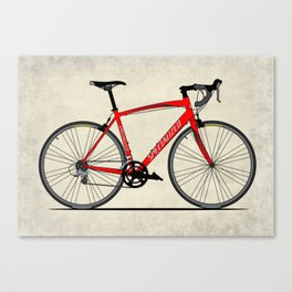 Specialized Racing Road Bike BicycleRoad Cycling Canvas Print