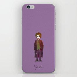 Heath Ledger - Joker iPhone Skin