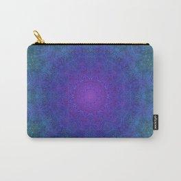 Purple Haze Mandala Carry-All Pouch