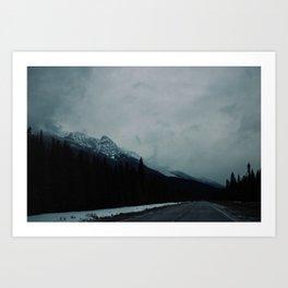 Canadian Rockies (2) Art Print