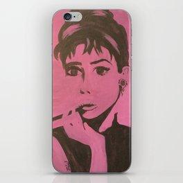 AUDRY POP iPhone Skin