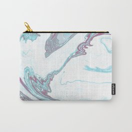 Marble Patten Carry-All Pouch