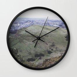 Arthur's Seat Wall Clock