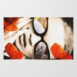 poppy pop (kate Moss) Rug