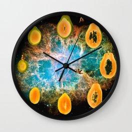papaya cycle Wall Clock