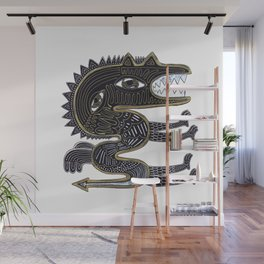 decorative surreal dragon Wall Mural