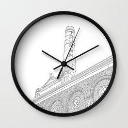 London Truman Chimney - Line Art Wall Clock