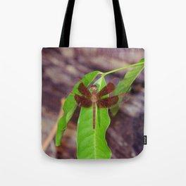 Painted Grasshawk (Neurothemis stigmatizans) Tote Bag