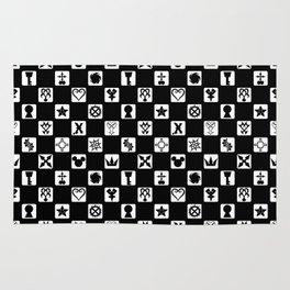 Kingdom Hearts Grid Rug