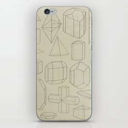 Geometric Crystals iPhone Skin