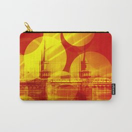 The Oberbaum Bridge  Berlin Collage Carry-All Pouch