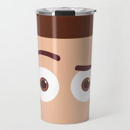 PIXAR CHARACTER POSTER - Sheriff Woody - Toy Story Travel Mug