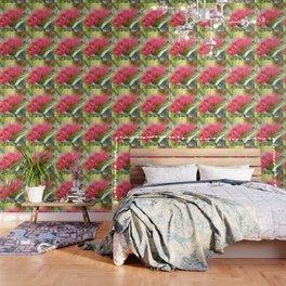 Flower Burst - Electric Magenta Wallpaper
